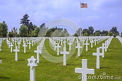 American War Cemetery - La Somme - France