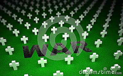 War cemetery memorial