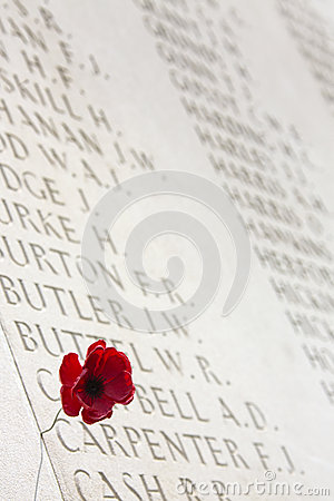 War Cemetery - The Somme - France Editorial Photography