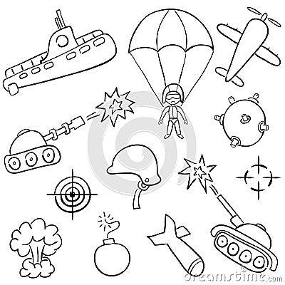 War doodles