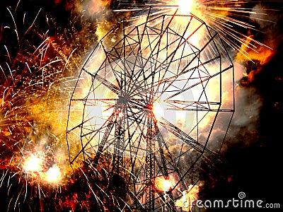 War Ferris Wheel