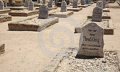 War Graves Cemetery Editorial Image