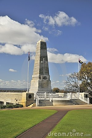 War memorial monument Editorial Image
