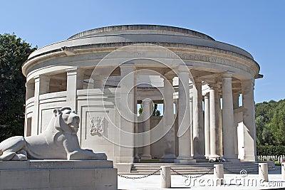 War memorial at Ploegsteert