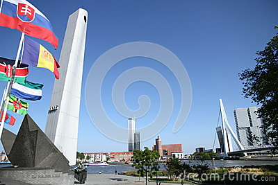 War memorial rotterdam Editorial Stock Image