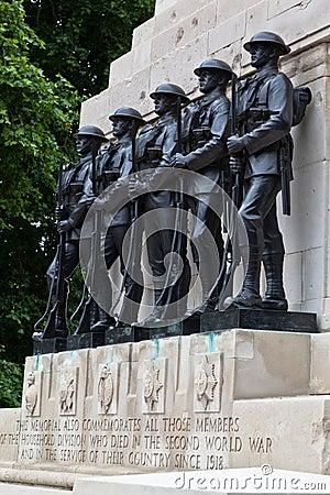 War Memorial in Saint James Park London