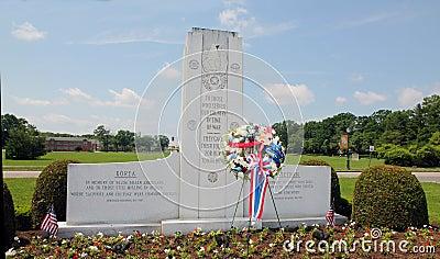 War memorial site Editorial Photography