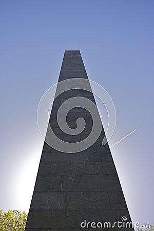 War Monument in Sunlight