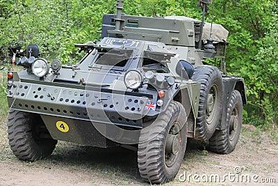 War reconnaissance vehicle English Editorial Image