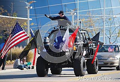 War Veterans Editorial Photography