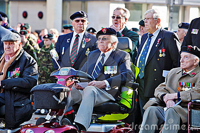 War veterans Editorial Stock Photo