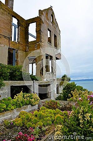 Warden s house on Alcatraz Island