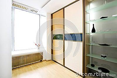 Wardrobe bamboo wide