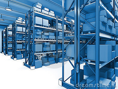 Warehouse 3d