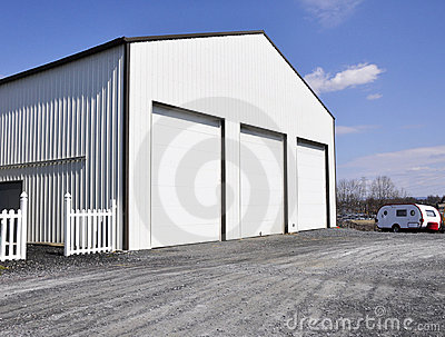 Warehouse garage