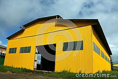 Warehouse hangar