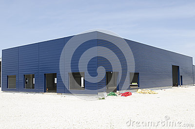 Warehouse under construction