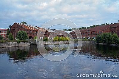 Warehouses on New Holland Island, St. Petersburg