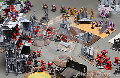 Warhammer 40000 40K Editorial Photo