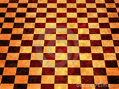 Warm Checkerboard Background