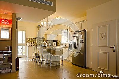 Warm colors kitchen