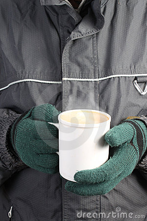 Warm drink in Winter