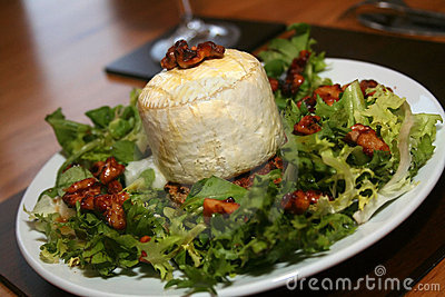 Warm Goats Cheese Starter Royalty Free Stock Photos - Image: 15849008