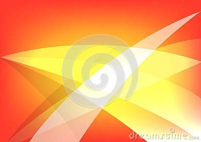 Warm and orange color abstract background design. vector illustration Vector Illustration