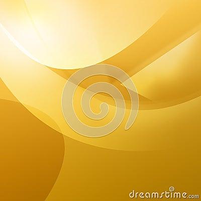 Warm Orange Curves