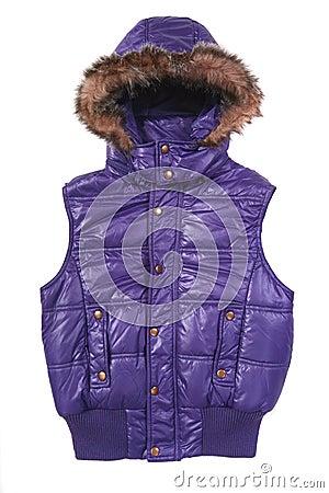 Warm puffer vest
