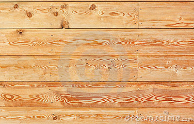 Warm-tinted wooden panel
