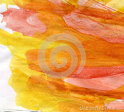 Warm watercolor background
