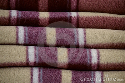 Warm woolen blanket