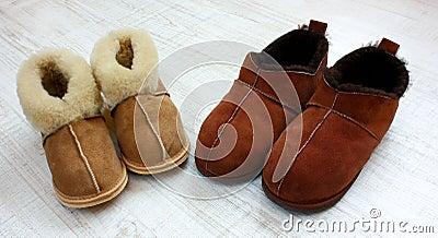 Warme pantoffels