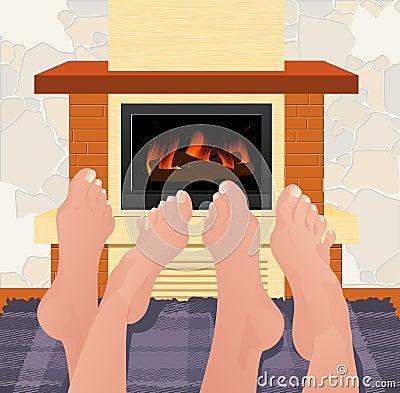 Free Warming Feet Royalty Free Stock Photography - 13615367
