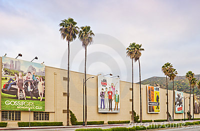 Warner Bros. Film Studio in Burbank, California Editorial Photo