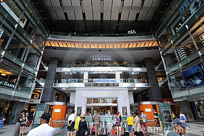 Warner-Mall Redaktionelles Stockfoto