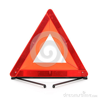 Red warning triangle