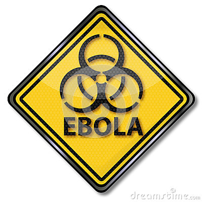 Free Warning Against Ebola Stock Images - 46080944