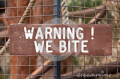 Warning We Bite