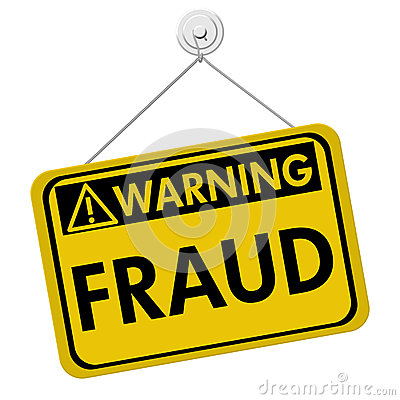 Warning of Fraud