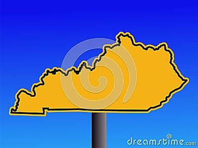 Warning Kentucky sign