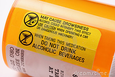 Warning Label - Alcohol