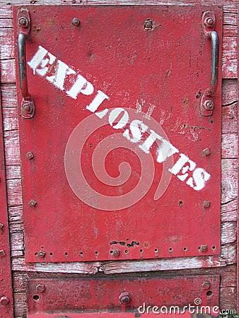 Warning sign Bisbee Arizona