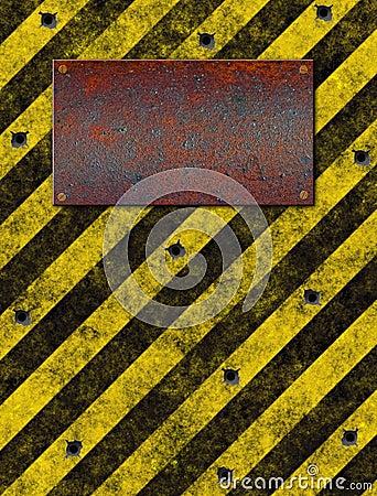 warning Sign bulletholes