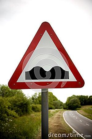 Warning Sign Humps