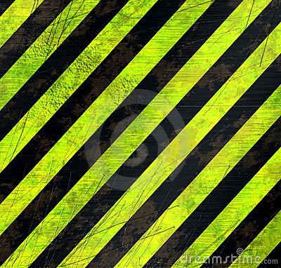 Warning stripes