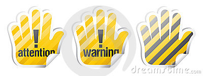 Warning vector signs
