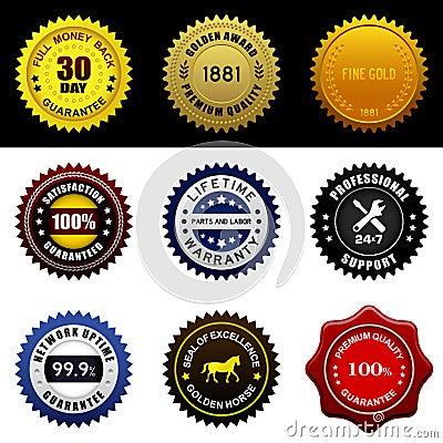 Warranty Guarantee Seal