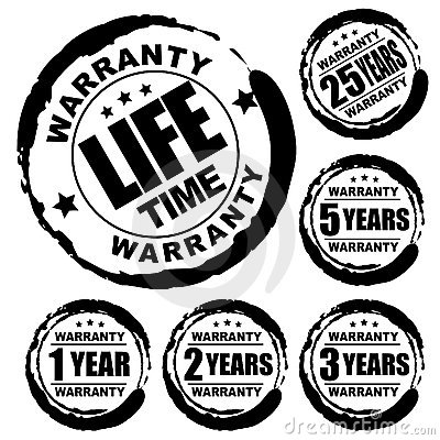 Free Warranty Stamp Royalty Free Stock Images - 20405469